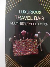 Premium 10-Piece Professional Makeup Brush Set with Free Travel Bag