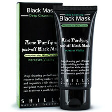Shills Deep Cleansing Blackhead Remover Peel-Off Black Face Mask Purifying 50ml