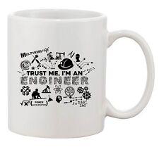 New Trust Me I'm An Engineer Engineering Tools Funny DT Ceramic White Coffee Mug