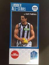 2015 Ladder AFL All Star Card Scott Pendlebury Collingwood Magpies