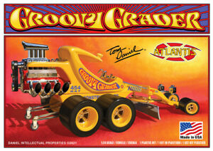 Atlantis Groovy Grader Tom Daniel 1:24 scale model car kit 5697