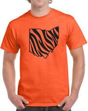 299 Ohio Stripes mens T-shirt stadium sports football cincinnati pride