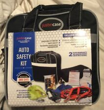 Justin Case Deluxe Travel Auto Safety Kit - Black