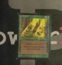 1 Regrowth - Beta MtG Magic Green Uncommon old school 93/94 #0390