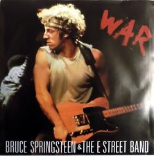 """Bruce Springsteen - War- 7"""" Single - USA - Picture Sleeve + Jukebox Strips - NEW"""