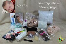 Fake Baby Artistries **BEGINNERS HAMPER** Guide to the Art of Reborning