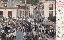 * CANARY - Tazacorte, Palma - Procesion de San Miguel 1905