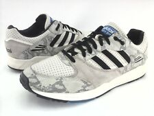 best service 218a0 51355 ADIDAS Tech Snake Embossed IvoryBlack Q34167 Sneakers Mens US 10.5 EU 44  ...