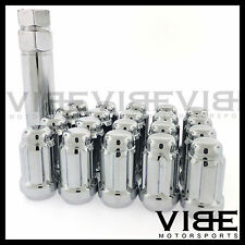 (20) 12mm X 1.5 12x1.5 CHROME SPLINE TUNER WHEEL LUG NUTS FITS LEXUS IS GS ES