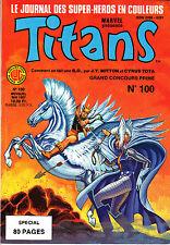 TITANS   N°100    LUG    MARVEL