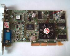 AGP Grafikkarte ATI r6 Rage Theater 109-70700-01 ddrf sd64mb 1027070300 Comp VGA Video
