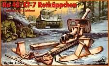 RAKETENWERFER Ra 43 + XT-7 ROTKAPPCHEN GUIDED MISSILE +VG 15 LUFTFAUST 1/35 RPM