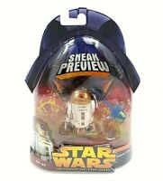 Star Wars Revenge of The Sith R4-G9 Sneak Preview Hasbro Figure New
