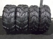 "ARCTIC CAT TBX 700 25"" WILD THANG ATV TIRES SET 4 (2) 25X8-12  (2) 25X10-12"