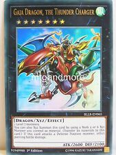 Yu-Gi-Oh 1x #065 Gaia Dragon, the Thunder Charger - BLLR - Battles of Legend