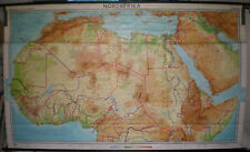 School Wall Map Wall Map School Map North Africa North Africa Africa 3mio 255x153c