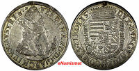 AUSTRIA Ferdinand II Silver ND 1564-1595 Taler Hall in Tirol VF DETAILS (10 010)