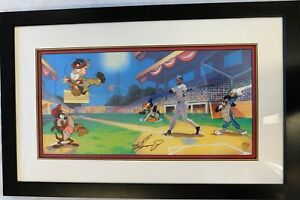 Ken Griffey Jr. Signed Junior's League Animation Cel /350 UDA Upper Deck Authen.