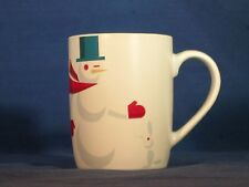 2012 STARBUCKS COFFEE COMPANY CUP or MUG SNOWMAN & BUNNY RABBIT