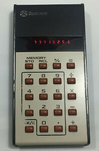 vintage Rockwell 18 R calculator -----------------------(26)