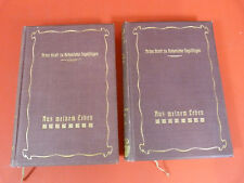 2 Bücher, Hohenlohe-Ingelfingen,Aus meinem Leben,Revolution 1848,Flügeladjutant