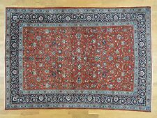 """7'10""""x11' Hand-Knotted Antique Persian Full Pile Oriental Rug Sh32135"""