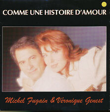 MICHEL FUGAIN VERONIQUE GENEST 45 TOURS FRANCE
