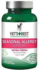 Vet's Best Seasonal Allergy Support Supplement for Dogs, 60 Tablets