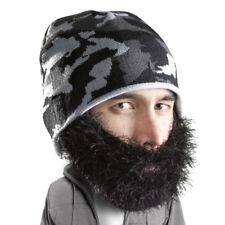 8f9ffbaba60 Bushy Maverick - Beard Head - Black Bushy Beard + Camo Beanie