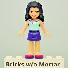 New Genuine LEGO Emma Minifig Friends 41098