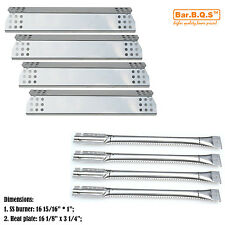 Kitchen Aid 720-0733A Gas Barbecue Grill Replacement Burners & Heat Plates 4Pk