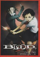 Blood+ (TV) Plus Part 2 Collection (Anime, DVD, 2007)  New Sealed English Audio!