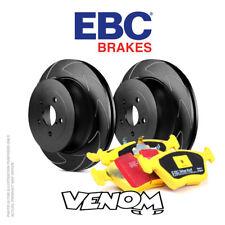 EBC Front Brake Kit Discs & Pads for Audi A3 Quattro 8P 2.0 TD 140 2004-2007