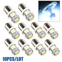 10x T11 BA9S T4W 5 SMD 5050 LED Lampe Standlicht Blinker Birne Rücklicht Weiß