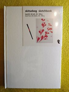Sketchbook Drawing Pad A5 60 Sheet Hardback Artist Acid free 100g