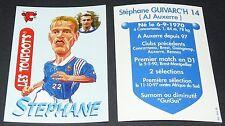 S. GUIVARC'H AUXERRE VACHE QUI RIT TOUFOOT'S FOOTBALL FRANCE 98 1998 PANINI