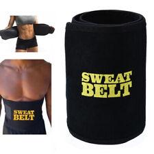 Waist Trimmer Belt Weight Loss Sweat Band Wrap Fat Tummy Stomach Sauna Safety