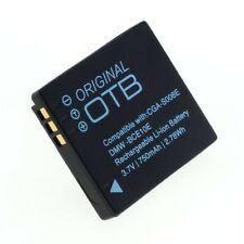 Original OTB Accu Batterij Panasonic DMW-BCE10E Akku Battery Bateria 750mAh