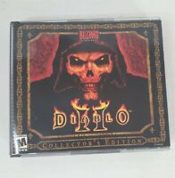 Diablo 2 II PC. Install & Cinematics Discs. Collectors edition Game Key Included