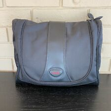 Tumi Hanging Travel Kit Toiletry Shaving Bag Black