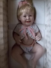 "First Issue 11"" Cute as a Button Numbered Baby Doll Ashton Drake Gallery"