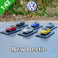 VW Volkswagen New Beetle Series Schuco 1:43 Metal Diecast Model Kits Car Toys
