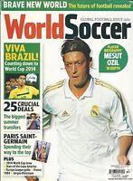 World Soccer Magazine Mesut Ozil World Cup Paris Saint Germain Summer Transfers