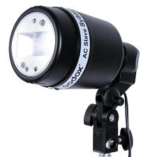 Single Umbrella Bracket Light Bulb Mount Holder + E27 AC Slave Flash SY8000