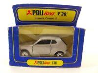Politoys E38 Honda Coupé Z 1/43 neuf en boite