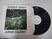LP Jazz Jukka Tolonen - Summer Games (6 Song) LOVE REC / FINLAND