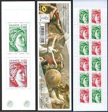 Carnet Timbres France Neufs N°1522 - Sabine de Gandon - Livré Non Plié