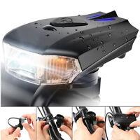 Bike Light USB Rechargeable Smart Sensor Front Headlight Waterproof  Wide Beam