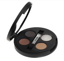 GOSH Eye Brow Kit Multi - 3 Powder Shades Fixing Gel Brush Mirror Eyebrow Set