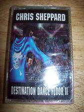 BRAND NEW Chris Sheppard MINT CASSETTE TAPE Destination Dance Floor II SEALED SS